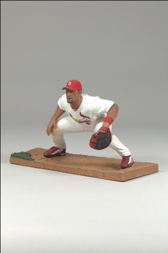 McFarlane Toys MLB 3 Inch Sports Picks Series 6 Mini Figure Albert Pujols 3 (St. Louis Cardinals) - 1