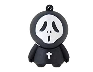 Euroge Tech® 8GB Scary Face Shaped USB Flash Drive Memory Stick