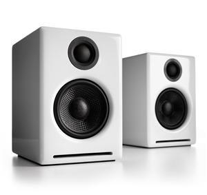 Audioengine A2 Premium Powered Desktop Speaker - Pair (White)