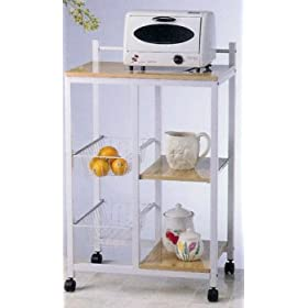 mobile kitchen storage cart