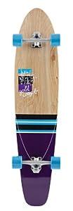 Goldcoast Complete Longboard Dart Skateboard, Modra Purple