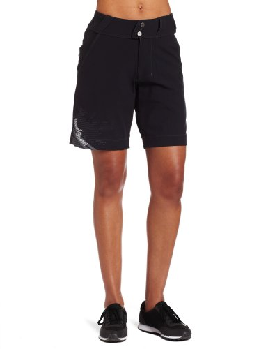 Pearl Izumi Women's Divide Short,Black/Black,Medium