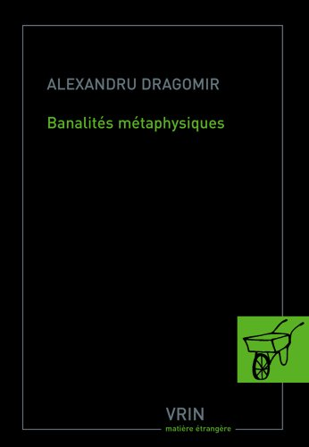 Banalités métaphysiques