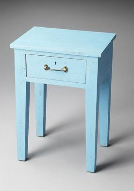 Artifacts Avignon Chairside Table Finish: Blue avignon джинсовая верхняя одежда