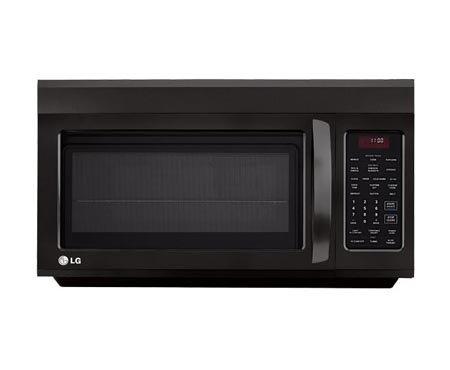 Lg Lmv1814Sb 1.8 Cu. Ft. Black Over-The-Range Microwave