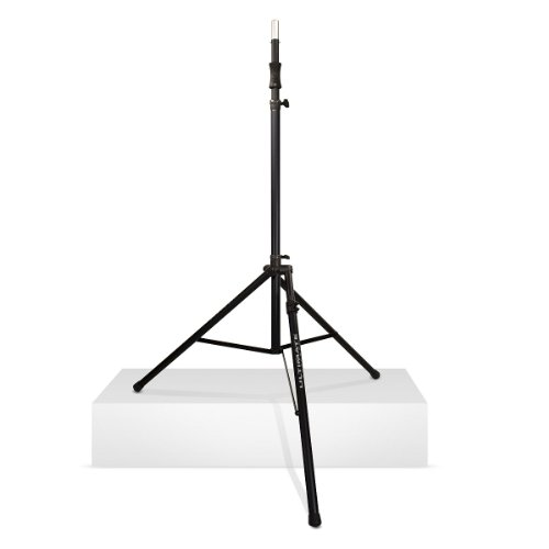 New Ultimate Support | High-Quality Air-Powered Series Lift-Assist Aluminum Tripod Spaeaker Stand, Ts-110Bl With Integrated Speaker Adapter (Ts-110Bl : Extra Tall & Leveling Leg)