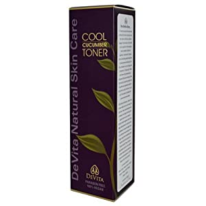 Devita Natural Skin Care Cool Cucumber Toner 5 oz by Devita