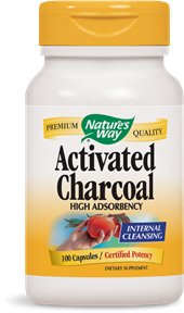 Quality's Way Activated Charcoal, 100 Capsules