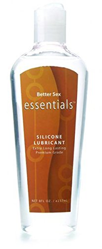 Better Sex Essentials Silicone Lube 8oz