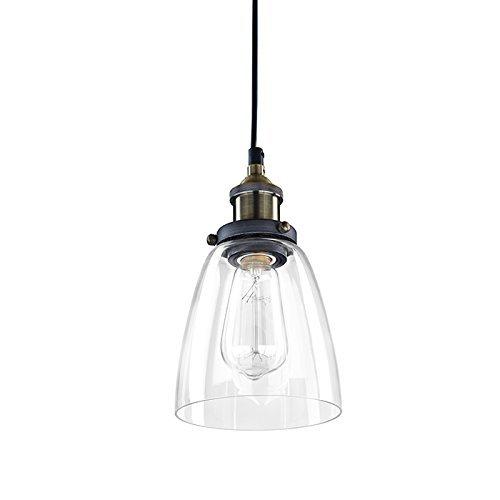 POP Industrial Edison Light Mini Glass 1 Light Pendant
