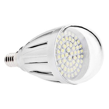 Led Bulbs - E14 4W 60X3528 Smd 300-320Lm 6000-6500K Natural White Light Led Ball Bulb (Ac 110-130/Ac 220-240 V) ( Voltage : 220V )