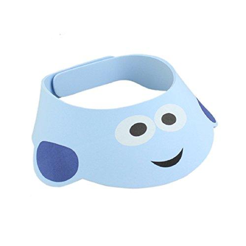 Chianrliu®Per il bambino Regolare shampoo bagno doccia bagno proteggere morbido cappello blu