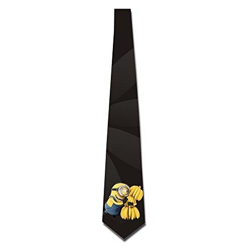 EUNICORN-SG-Minions-Despicable-Me-Skinny-Tie-Necktie