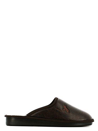 Susimoda 5061 Pantofola Uomo Marrone 40