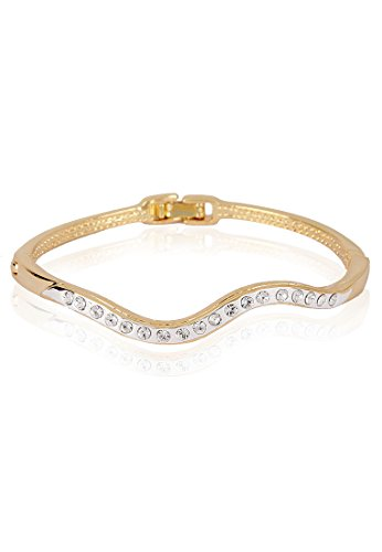 Estelle Estelle Gold Plated Bangle Women Gold (Yellow)