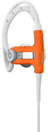 Beats By Dr. Dre Athlete Engineered Passive Sound Isolation Powerbeats (Neon Orange)