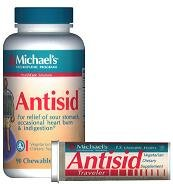 Antisid Traveler Tube - 15 - Chewable