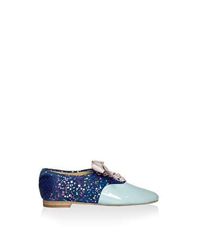 L37 Zapatos de cordones Cielo / Azul