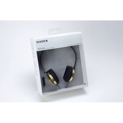 NIXON HEADPHONES: APOLLO/ GOLD/BLACKの写真02。おしゃれなヘッドホンをおすすめ-HEADMAN(ヘッドマン)-