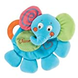Chicco Cuddly & Colorful Elephant Comfortable Teething Blanket With Rounded Plastic Handles Baby / Child / Infant / Kid