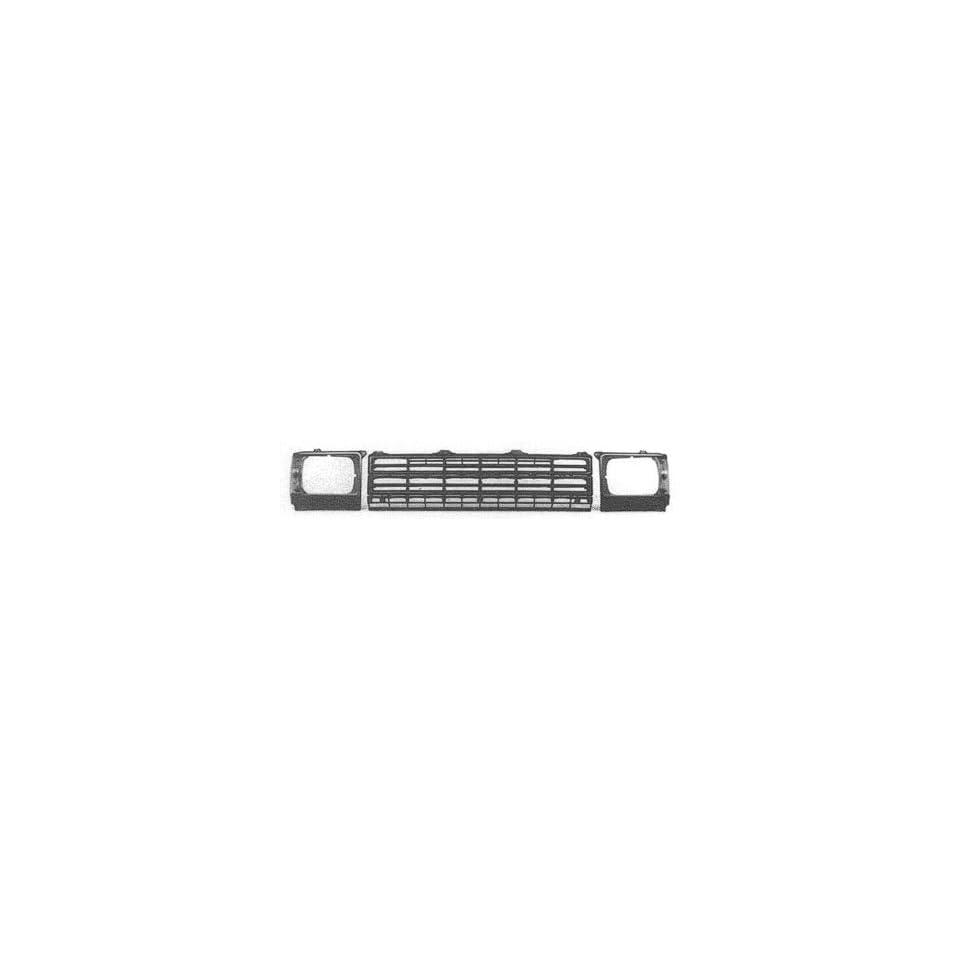 1984 86 TOYOTA 4 RUNNER PARK CORNER LIGHT WITH CHROME TRIM, DLX, SR5, SRT, RH (PASSENGER SIDE)