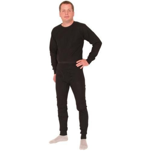 Outdoor Men's Thermal Underwear Bottom Large Black - Outdoor at Sears.com