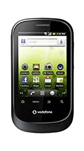 Vodafone 858 Black Android Smart Phone on PAYG