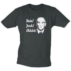 Louis de Funes T-Shirt no! MA! WOW! (direttore cut-maglietta) Taglia L