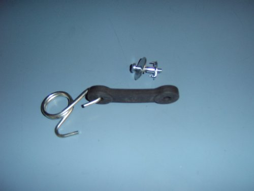 160793 Bagger Latch Assembly For Craftsman, Poulan, Husqvarna. Includes Hardware. Also Used On Mulch Plate. front-559352