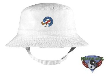 Embroidered Infant Bucket Cap with the image of: martial arts