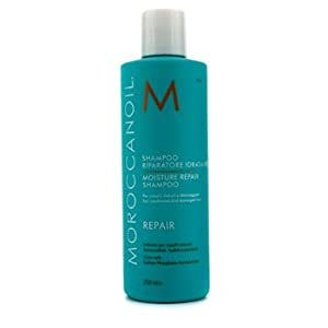 Moroccanoil Moisture Repair Shampoo, 8.5-Ounce Bottle