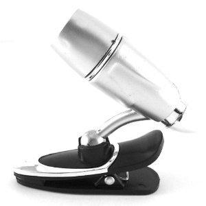 Book Light : Flexible 360 Degree Mini Clip-on LED Lamp Kindle Nook Reading Light W/batteries