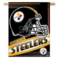 Wincraft Pittsburgh Steelers 27X37 Vertical Flag from SteelerMania