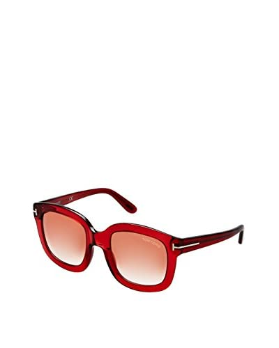 Tom Ford Women's  Christophe Sunglasses, Translucent Red
