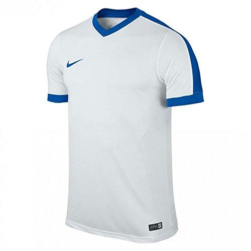 Nike SS Striker IV Jsy - Maglietta da uomo, UOMO, blanco / azul (white / white / royal blue / royal blue), M