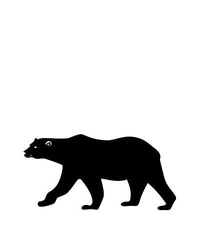 Vinilo Decorativo Bear Blackboard