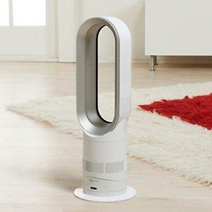 Bathroom Fans Heater: Dyson AM04 Dyson Hot Fan Heater- White