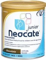 Neocate Junior Pediatric Nutrition Chocolate Powder 14 oz. Can Part No. 12690 Qty 1 Each