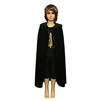 Aoneitem Kids Child Halloween Hooded Cloak Cape Role Play Costumes