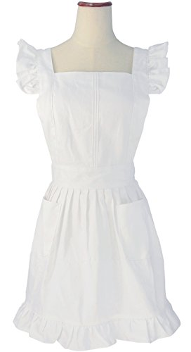 lilments-retro-adjustable-ruffle-apron-kitchen-cooking-baking-cleaning-maid-costume-white-by-lilment
