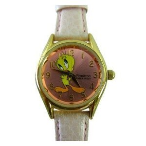 Armitron Looney Tunes Tweety Bird Watch – Pink Leather Band