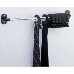 30 Tie Organizer (model 1314w) by Organize-It-All (Chrome/Black)