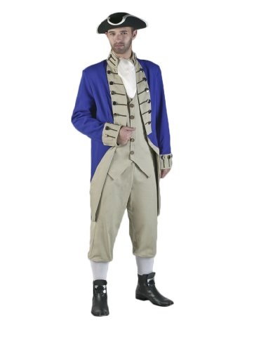 Tabi's Characters Men's Revolutionary War Colonial Soldier Theatrical Costume