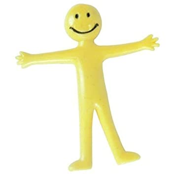 Stretchy Smiley Man - One Supplied by Partyrama (English Manual)
