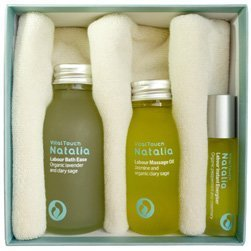 Labour and Birth Box - Total Preparation - Labour Massage Oil - Labour Bath Ease - Labour Instant Energiser - New Mum Gift