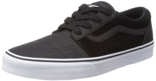 Vans Mens Collins Black/White Low-Top VQFF8Y1 5.5 UK, 38.5 EU, 6.5 US