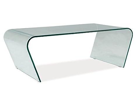 Glastisch 'Terry' Couchtisch Beistelltisch Tisch Sofatisch Wohnzimmer Glas Cube komplett