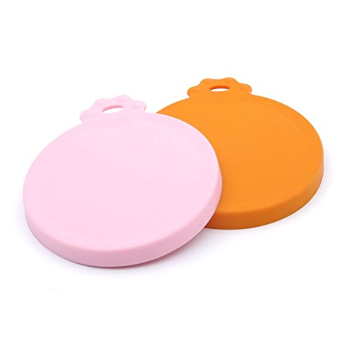 Super Design Silicone Can Cover for Multiple Sizes, 1 Package of 2 (Silicone Can Lid compare prices)