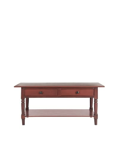 Safavieh Boris Coffee Table, Red