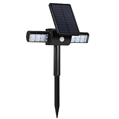 Solar Lights Bright 24 LED Rotating Lights